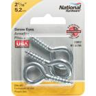 National #104 Zinc Medium Screw Eye (3 Ct.) Image 2