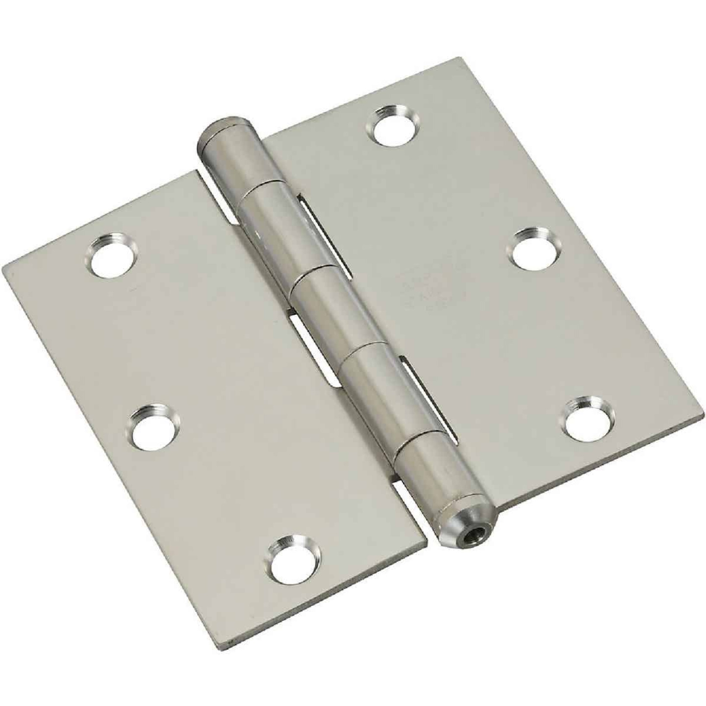 National 3-1/2 In. Square Stainless Steel Door Hinge Image 1