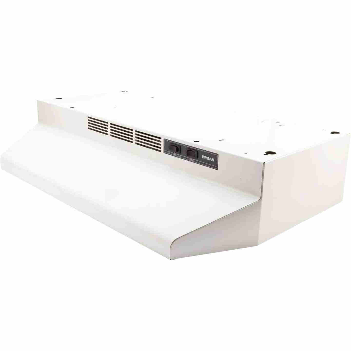 Broan-Nutone 41000 Series 30 In. Non-Ducted White Range Hood Image 1