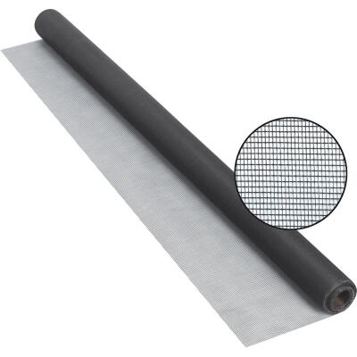 Phifer 30 In. x 25 Ft. Charcoal Fiberglass Screen Cloth