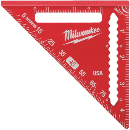Milwaukee 4-1/2 In. Aluminum Trim/Rafter Square