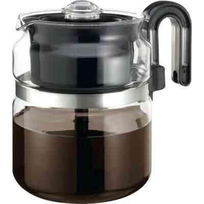 Medelco 8 Cup Glass Stovetop Coffee Percolator