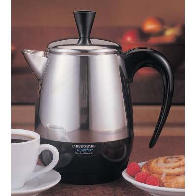Farberware 4 Cup Stainless Steel Coffee Percolator