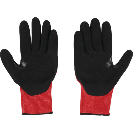 Milwaukee Impact Cut Level 3 XL Men's Nitrile Work Gloves