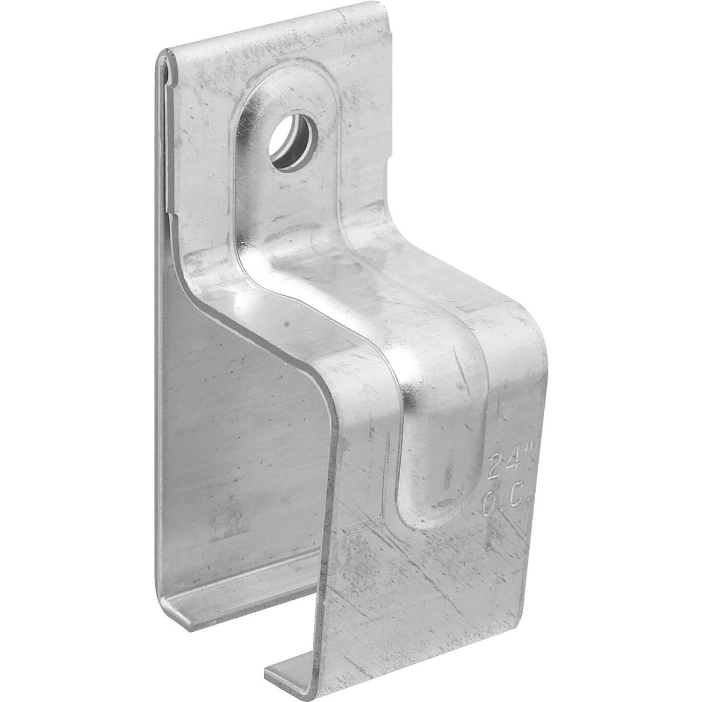 National Galvanized Single Box Rail Barn Door Bracket Image 1