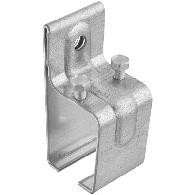 National Galvanized Single Splice Box Rail Barn Door Bracket