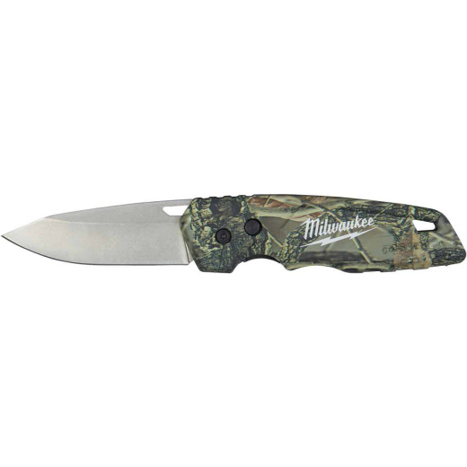 Milwaukee FASTBACK 2.95 In. Camo Folding Knife